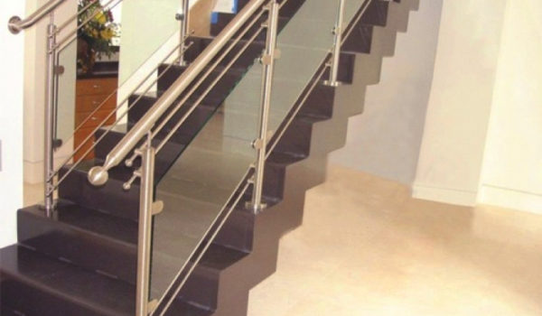New Design Stainless Steel Stair Railing In Patparganj Delhi Stainless Steel Railing Designs Stairs - a more decor